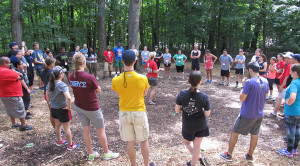 LVs participate in Ropes Course